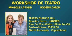 Workshop de teatro.